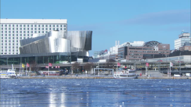 WS Stockholm Waterfront Congress Center at sunny winter day / Stockholm, Stockholm, Sweden