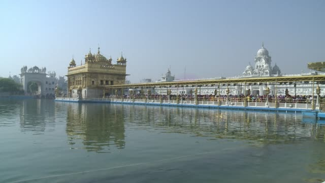 Stockshots of Amritsars Golden Temple ahead of the 30 year anniversary Friday of Indias deadly raid on militants inside the holiest site of Sikhism