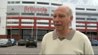 Stoke City prepare for Premiership EXT Interview with Tony Scholes SOT Day it has become real/Talks about opening fixtures Interview with John Rudge...