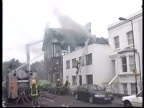 Firefighters tackling fire at pub Clean Feed tape = D0625083 or D0625084 002221 to 002242 MIX Programme as Broadcast tape = D0625082