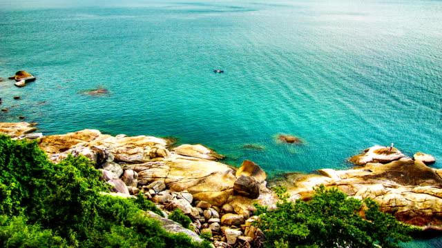 Stone and sea