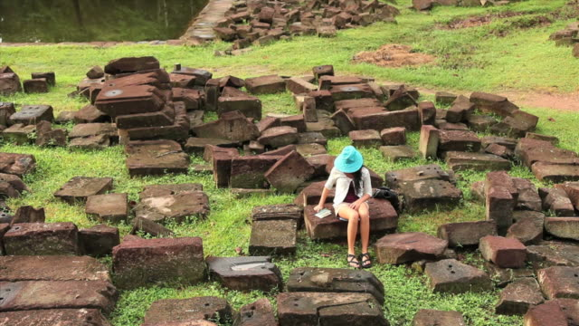 stone jigsaw at Angkor