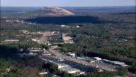 Stone Mountain  - Aerial View - Georgia,  DeKalb County,  United States