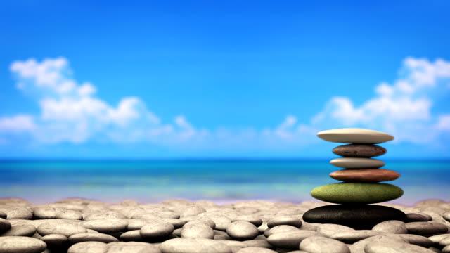 Stone near sea