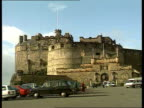 Stone of Destiny to rest in Edinburgh Castle NAF Edinburgh Edinburgh castle LA MS Castle PAN LR to entrance tourists