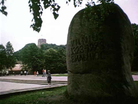 MS Stone of Vilnius 13231973 AUDIO / Vilnius Lithuania