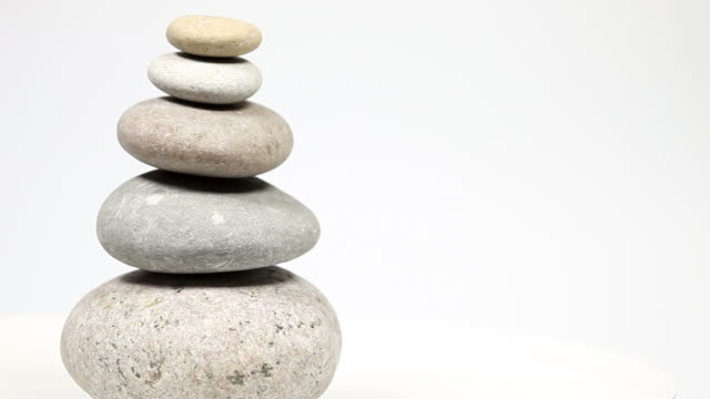 stone tower, balance and harmony