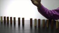 Stop domino risk effect