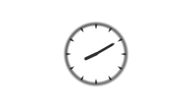 CLOCK : stopping at 4:00 o'clock (WIPE)