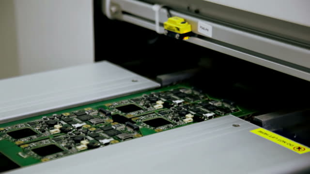 Storage of electronic circuit boards after soldering