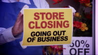 Store Closing Window Sign