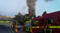 27 storey apartment building engulfed by huge blaze near Nothing Hill in London United Kingdon on June 14 2017 London's senior fire fighter has said...