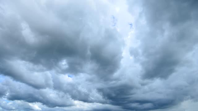 Storm Cloud Time Lapse 4K