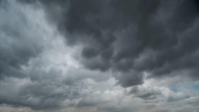 T/L storm clouds fill frame, Bangsar, Kuala Lumpur