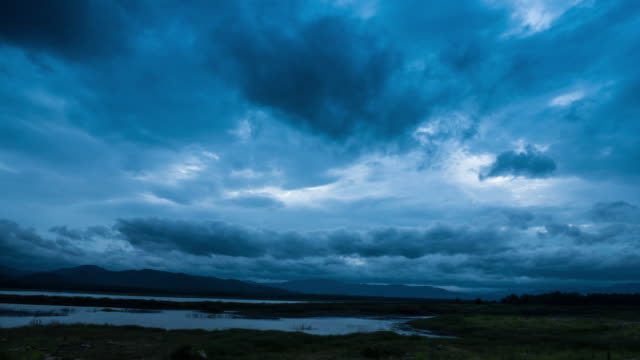 Storm clouds Time Lapse Reservoir Area