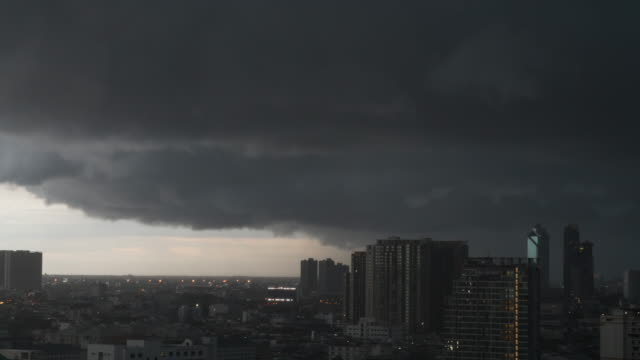 Storm clouds,Time lapse.