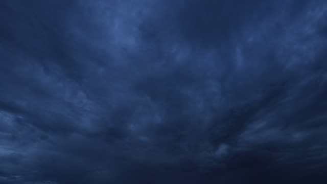Storm Dark Clouds, Time lapse