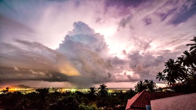 Storm time lapse