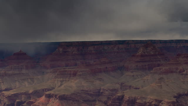 Stormy Grand Canyon Time Lapse