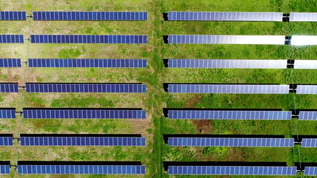 Straight Down rechte rijen zonnepaneel elektriciteitscentrale verstrekken van schone hernieuwbare energie om te helpen bestrijden van klimaatverandering en werkgelegenheid creëren