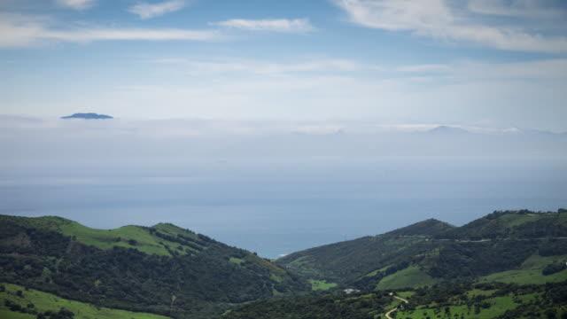 Straits of Gibraltar - Time Lapse