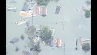 WGNO Stranded People During Hurricane Katrina In New Orleans on August 29 2005 in New Orleans Louisiana