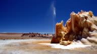 Strange geyser structure in the Atacama Desert, northern Chile