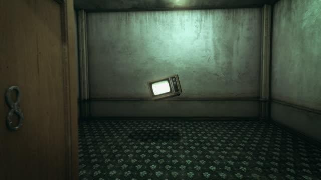 Strange scene in a hotel room (preview darker than video)
