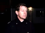 Day 11 ENGLAND Manchester Strangeways Prison NIGHT Water cannon being sprayed on to prison roof Prisoners barely seen on roof Intvw Bob Grantham Fire...