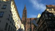 Strasbourg Cathedral, Notre Dame Cathedral, Strasbourg, Alsace, France