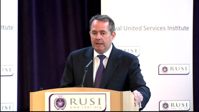 Liam Fox speech Liam Fox speech continued SOT In the last decade NATO has moved unambiguously outside its traditional geographic area with European...