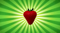 Strawberries Background (Loopable)