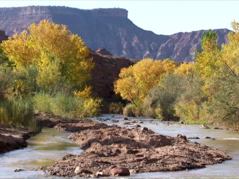 Stream and mesa
