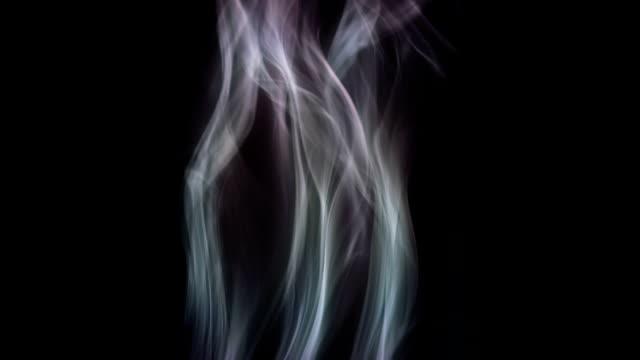 Stream of smoke