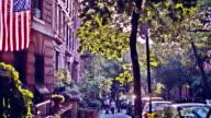 Street in Brooklyn, New York