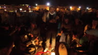Street musicians. Jemaa el fna. Marrakech.