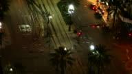 Street von New Orleans in der Nacht, Timelapse