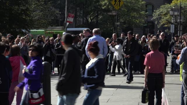 Street performers in Manhattan, New York City