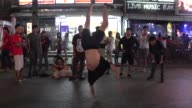 Street player on Bangla Road in Patong on Phuket Island in southern Thailand Bangla Road is the center of the nightlife in Patong with many gogo bars...