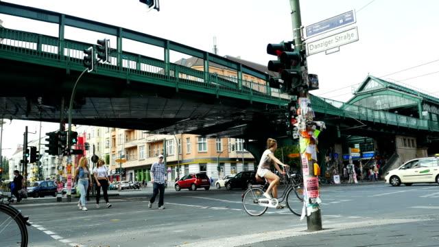 Street Scene In Berlin Prenzlauer Berg (4K/UHD to HD)