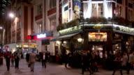 Scena di strada a Londra Bishopsgate