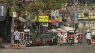 Street scene in Manila Philippines