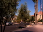 Street scene in Scottsdale, AZ