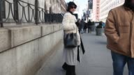 Street Style Video New York Fashion Week Fall 2016 Collections on February 12 2016 in New York City