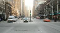 Streets of Chicago. HQ 1080P 4:4:4 RGB