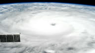 Strengthen to Category 4 the eye of the storm is more defined / Newest Images Released on August 26 evening / This is a major dangerous weather event...