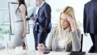 STRESSATO donna d'affari