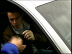 Strike called possible legal action ITN London Frank Lampard in car signing autographs for fans Emmanuel Petit signing autographs from car Graeme Le...