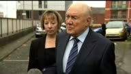 Stuart Hall sentence for indecent assaults doubled LIB PHOTOGRAPHY*** Stuart Hall speaking to press SOT the allegations are pernicious and callous...