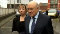 Stuart Hall sentenced to 15 months in jail for indecent assaults LIB / 722013 PHOTOGRAPHY** Stuart Hall statement to press SOT allegations are...